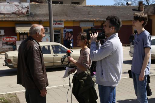 Video anketa snimljena u najprometnijoj ulici u Boru.
