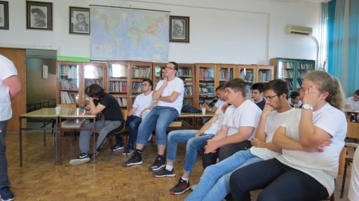 U obuci za Hakaton učestvovali su učenici iz Majdanpeka, Zaječara, Bora, Knjaževca i Svrljiga.